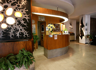 Hotel Moderne Menton, round-the-clock reception 24h/24h